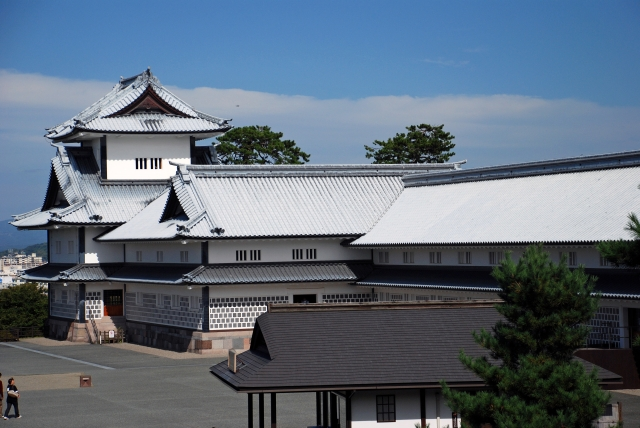 前田家の居城となった金沢城