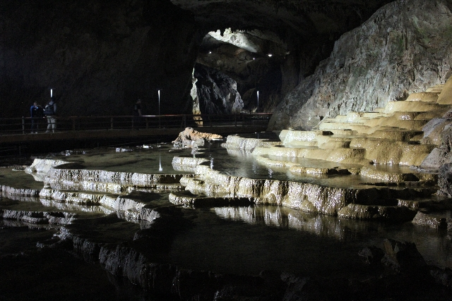 日本三大鍾乳洞の秋芳洞