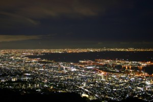 日本三大夜景の神戸