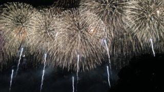 夜空を彩る花火