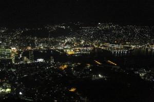日本三大夜景の長崎