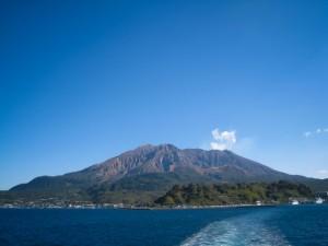 大久保利通と西郷隆盛が生まれ育った鹿児島の櫻島