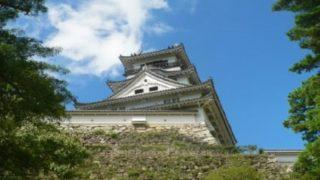 武市半平太が生まれ育った土佐の高知城