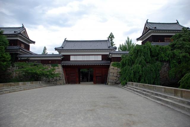 上田合戦の舞台となった上田城