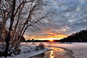 三寒四温の頃の風景