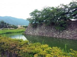 真田信之が居城とした松代城