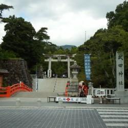武田家を祀る武田神社