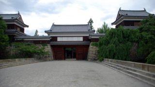 真田氏の居城の上田城