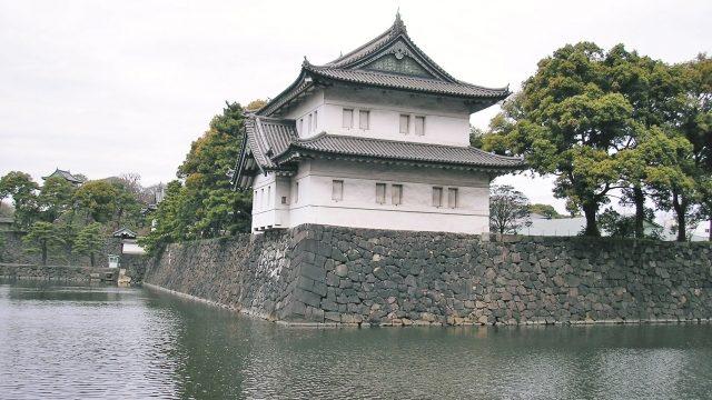 徳川氏が居城とした江戸城