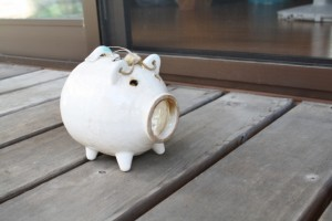 昔から人気の蚊取り豚