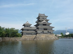 石川数正が居城とした松本城