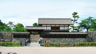 真田氏の居城の松代城