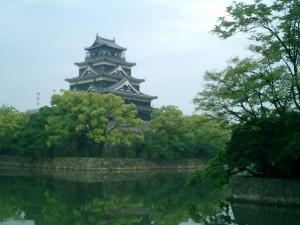 福島正則が居城とした広島城