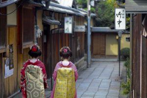 京都美人の後ろ姿