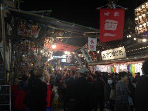 浅草の鷲神社の酉の市