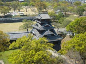 熊本城の天守