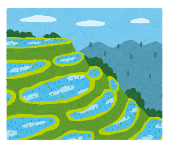 井伊谷の田のイメージ