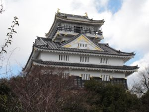 斎藤道三が居城とした稲葉山城(後の岐阜城)