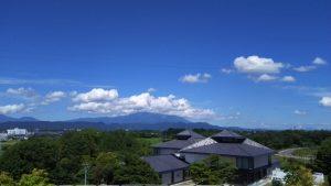 日本三大そばで有名な盛岡の風景