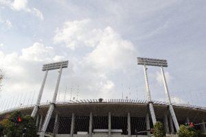 東京オリンピックの開会式が行われた国立陸上競技場