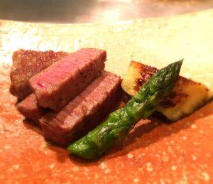 牛肉の料理