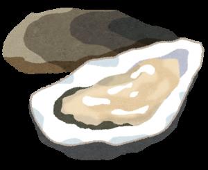 牡蠣のイラスト