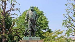 上野の西郷隆盛の銅像