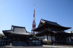 和宮が眠る増上寺
