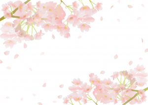 桜吹雪のイメージ図
