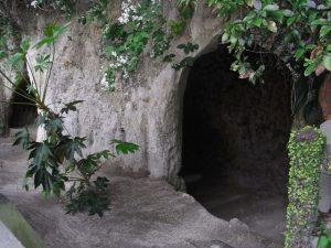 西郷隆盛が籠った城山の洞窟