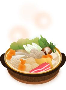 冬の野菜を使った鍋物