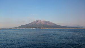 桜島の遠景