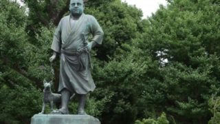 上野の西郷隆盛像