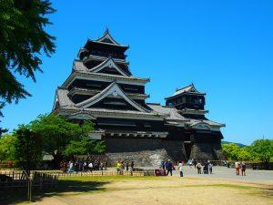 西南戦争で激戦となった熊本城