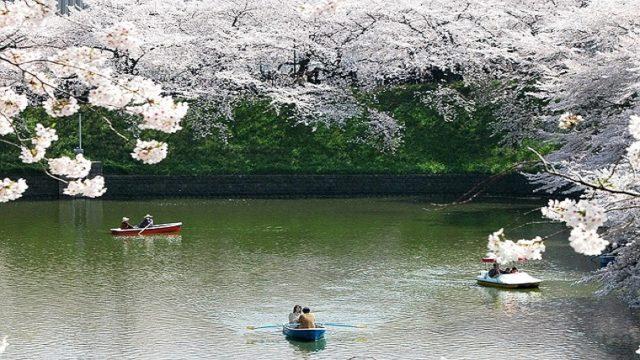 祝日・休日にボート遊びをする人