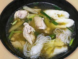 比内地鶏を使ったきりたんぽ鍋