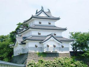 新発田城の天守閣