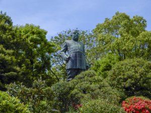 鹿児島にある西郷隆盛像