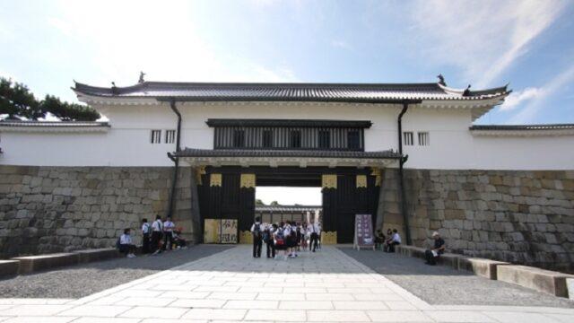 大政奉還の舞台となった二条城