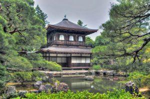 京都東山の銀閣寺
