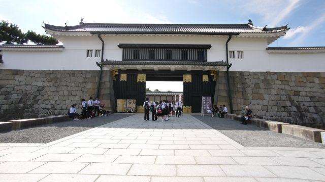 徳川慶喜が大政奉還をした二条城