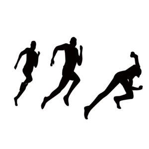 マラソンのイラスト