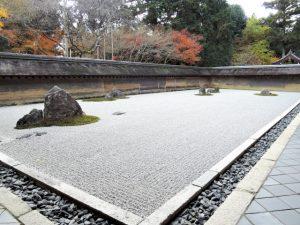 金閣寺近くにある龍安寺