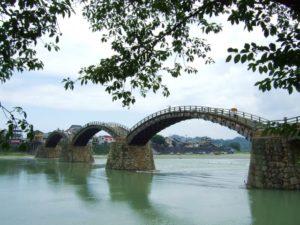 日本三名橋の一つと言われる山口県の錦帯橋