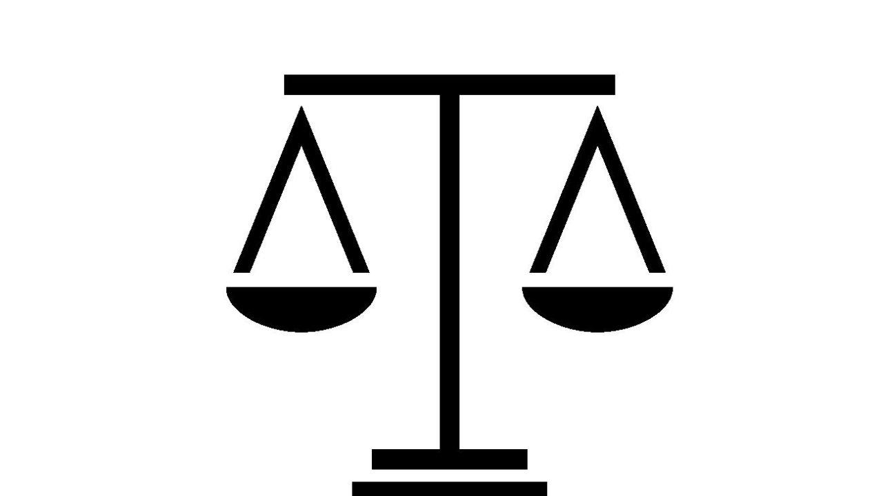 弁護士徽章のイラスト