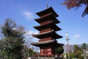 池上本門寺の五重塔