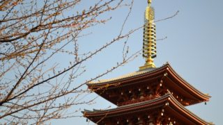 浅草寺の五重塔