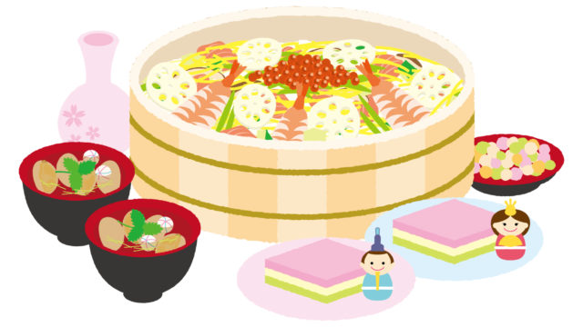 ひな祭りの料理