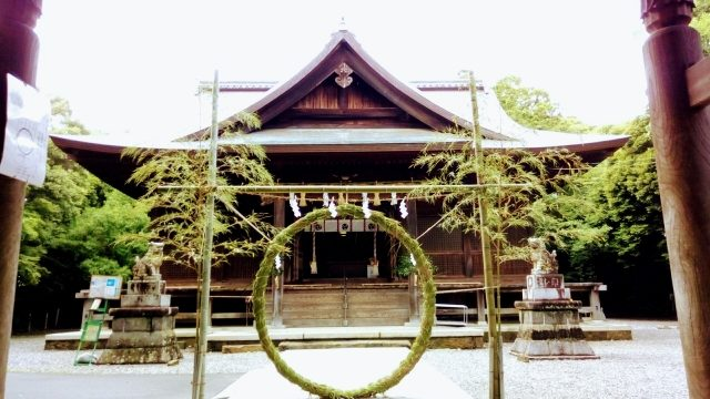 夏越の祓と茅の輪