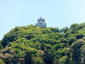 斎藤道三の居城の稲葉山城(現岐阜城)